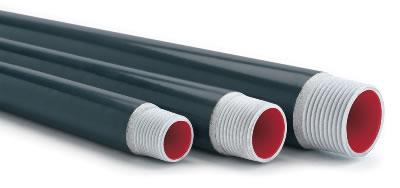 "3//4/"" X 3/"" ROBROY PRHNIP-3//4X3 PLASTI-BOND THREADED PVC-COATED CONDUIT NIPPLE"