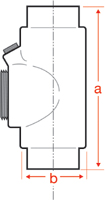 Stahlin (RobRoy) HPSERIES2 1.5 Inch Enclosure Hole Plug