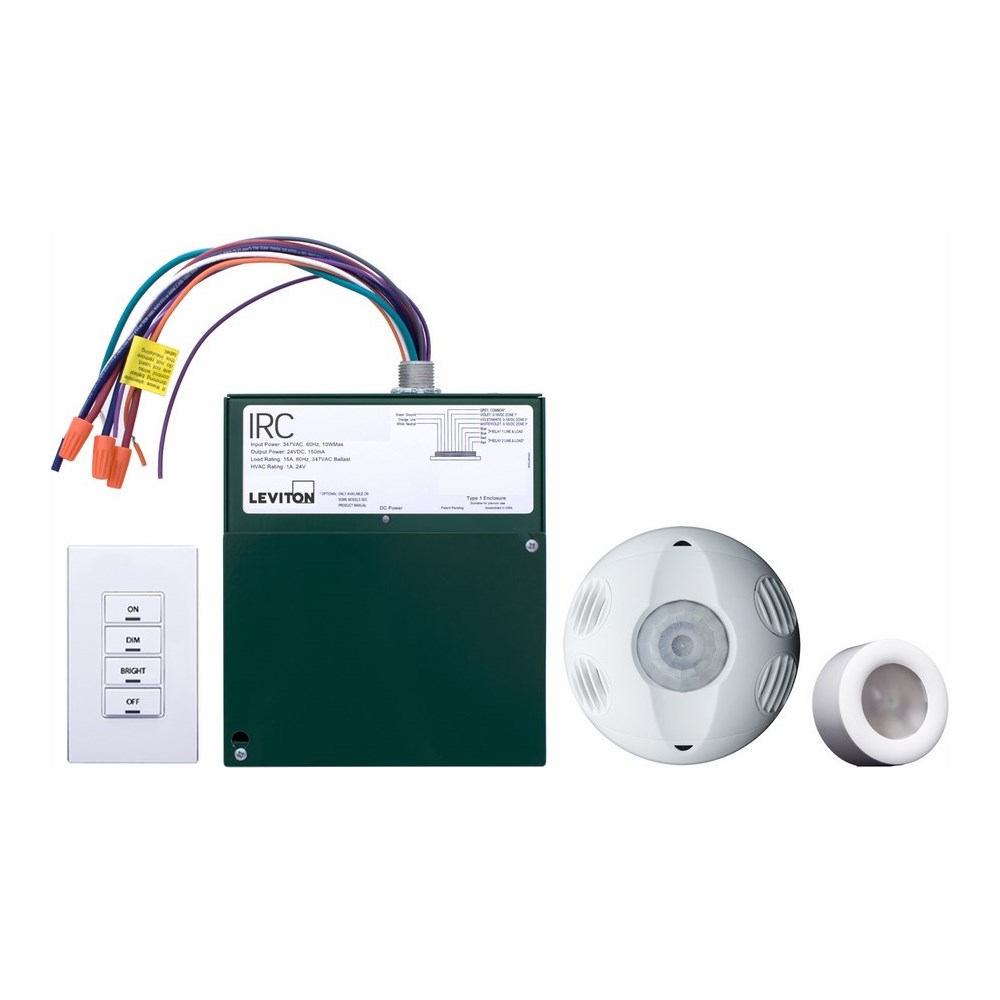 Leviton LEVRCD20-102 IRC DIMMING ROOM CONTROL KIT. INCLUDES LOW ...