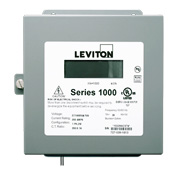 Leviton,1N240-11,Leviton® 1000 Dual Element Meter, 120/208/240 VAC, 100 A, NEMA 1 Enclosure