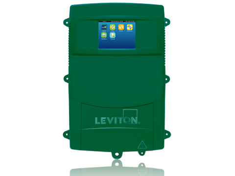 Leviton,A8814-2S3,Leviton® VerifEye™ A8814-2S3 Data Acquisition Server With 3-Phase Meter, RS485 ModBus Ports, 208 to 480 VAC