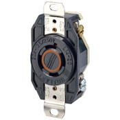 LEVITON 2410 : LOCKING FLUSH RECEPTACLE