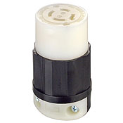LEVITON 2433 : LOCKING CONNECTOR L16-20R