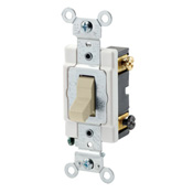 LEVITON CSB3-15I : 3WAY 15A 277V IVORY SWITCH