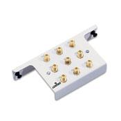 LEV 47690-8C2 1X8 Passive Video Splitter Module, White cs=1