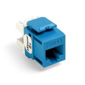 LEV 61110-RL6 eXtreme 6+ QuickPort Connector, CAT 6, Blue cs=50