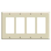 LEV 80412-W WHT 4G DECORA/GFCI PLT PLATE CS=10