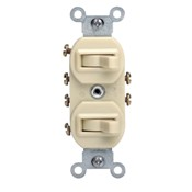 LEV 5243-W TWO 3-WAY SWITCHES