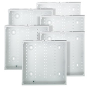 LEV 47605-14G SMC 14-Inch Series, Structured Media Enclosure only, 6-Pack, White cs=1