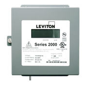 LEV 2N208-T1D 120/208V 3PH 4W 100A INDOOR METER KIT W/ 3-CT'S & DEMAND FEATURE