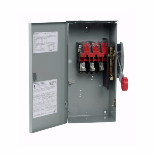 CUT DH362URK 60A/3P HD Non-Fusible Safety Switch 600V Nema 3R
