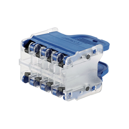 QPPN8BU PAN QN PLUG PACK HOUSING 8 PACK BLUE