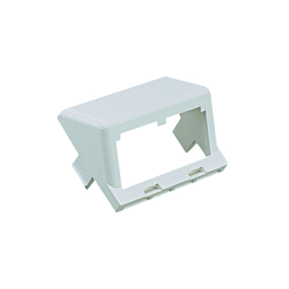 CHS2IW-X PAN 2 MODULE SLOPED MINI-COM INSERT OFFWHITE