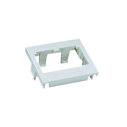 CHF2WH-X PAN 2 MODULE FLAT MINI-COM INSE RT WHITE