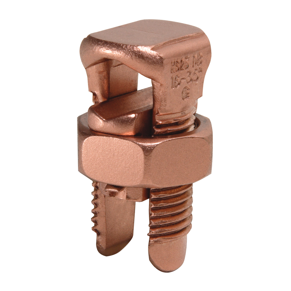 BUR KS23 SERVIT 6 STR - 2 STR COPPER SPLIT BOLT= ILSCO IK4