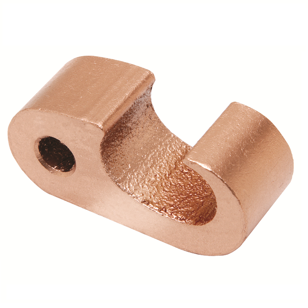 BURNDY,YGHP29C29,BURNDY® Hytap™ YGHP-C Mechanical Compression Ground Rod Connector, 3/0 AWG to 250 kcmil Main/Run Size, Copper