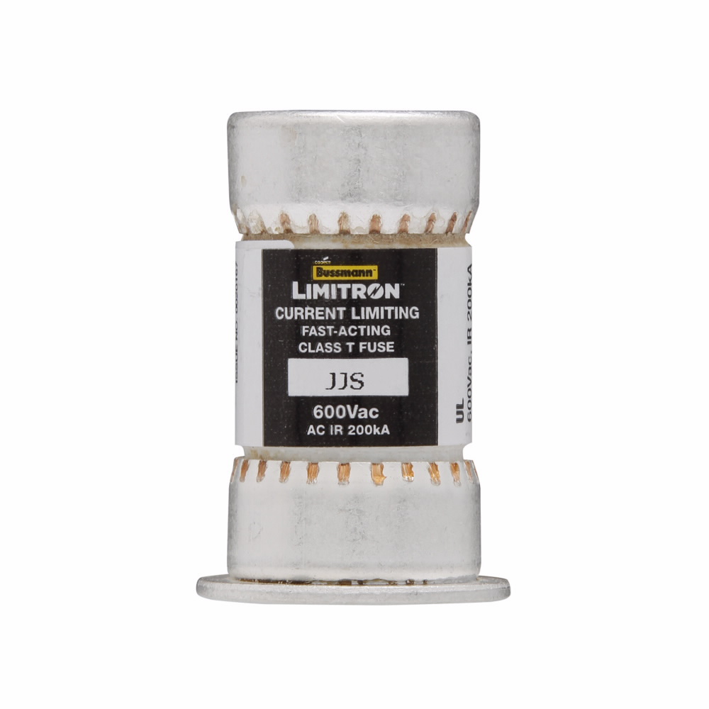 Cooper Bussmann North America Elect,JJS-60,Bussmann LIMITRON™ JJS-60 Current Limiting Fast Acting Fuse, 60 A, 600 VAC, 200 kA Interrupt, Class T, Cylindrical Body