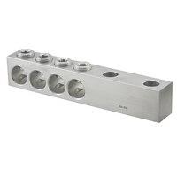 Ilsco,PET-4-350-Z,ILSCO® PET Dual Rated Spade Transformer Lug, 4 350 kcmil to 12 AWG Copper/Aluminum Conductor, 1/2 in Stud, Aluminum