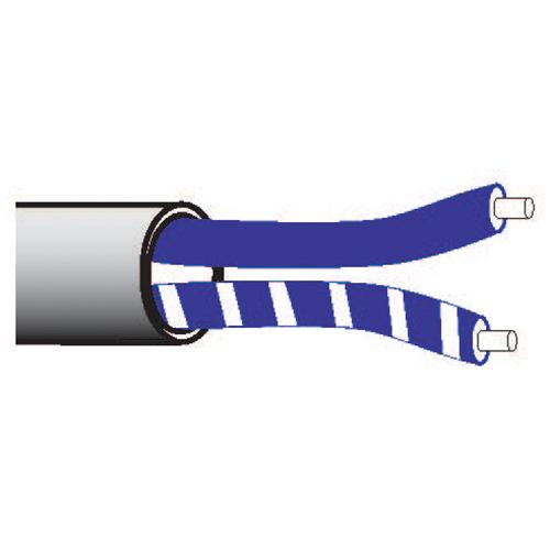 Lutron,C-PCBL-216-CL-1,EcoSystem® C-PCBL-216-CL-1 Plenum Network Cable, 300 VAC, (2) 16 AWG Solid Bare Copper Conductor, 1000 ft L