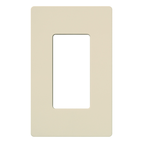 LUT CW-1-LA CLARO WALLPLATE 1 GNG LIGHT ALMOND