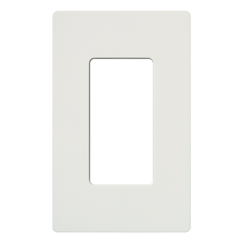 Lutron,CW-1-WH,CLARO WALLPLATE 1 GNG WH