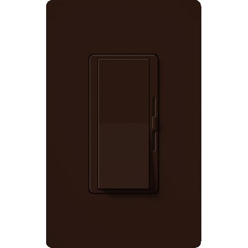 Lutron,DVCL-153P-BR,Diva C.L® DVCL-153P-BR Designer Dimmer Switch, 120 VAC, 1 Pole, 3-Way Mode, Brown