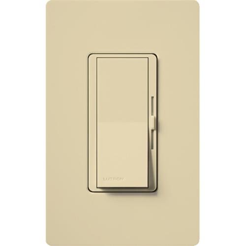 Lutron,DVCL-153P-IV,Diva C.L® DVCL-153P-IV Designer Dimmer Switch, 120 VAC, 1 Pole, 3-Way Mode, Ivory