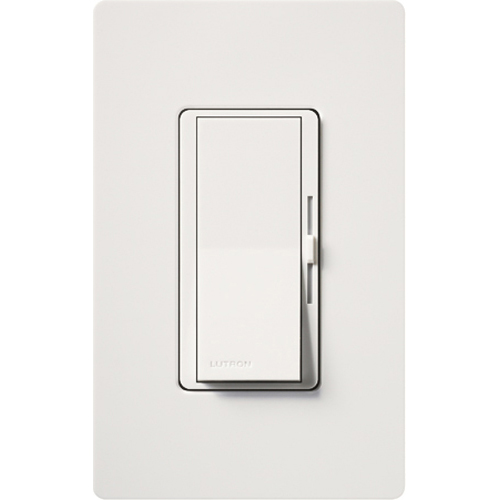 LUT DVCL-153P-WH * CFL/LED DIMMER, 1 POLE/3WAY DIVA, 150/600W, WHITE