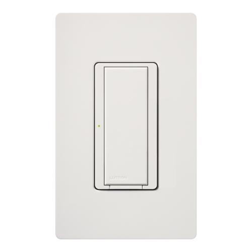 Lutron,MA-S8AM-WH,Maestro® MA-S8AM Digital Switch, 120/127 VAC, 8 A Light/3 A Fan, 1 Pole, On/Off, White