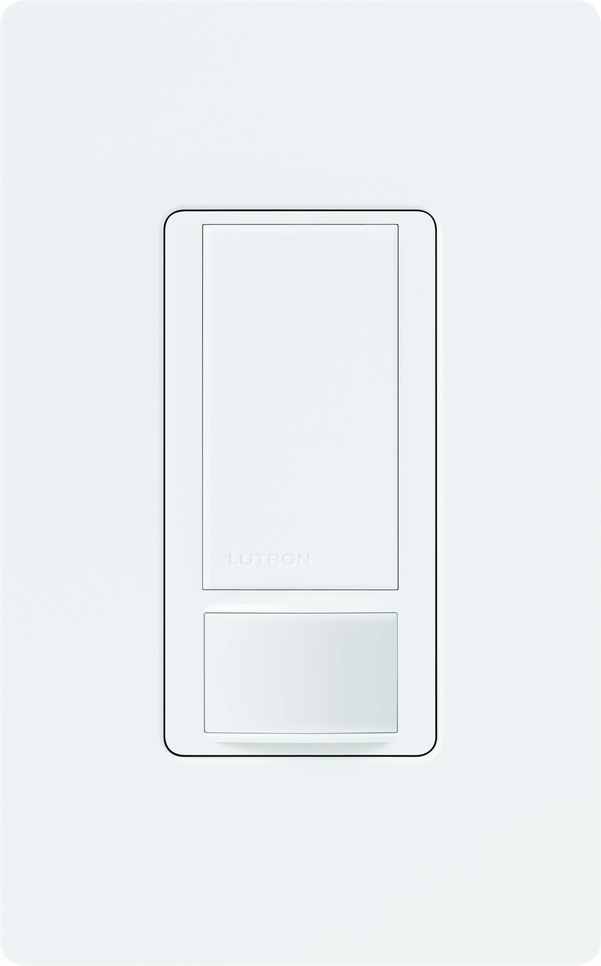 Lutron,MS-OPS2-WH,Maestro® MS-OPS2-WH Occupancy Sensor, 120/277 VAC, PIR Sensor, 30 x 30 ft Coverage, 180 deg
