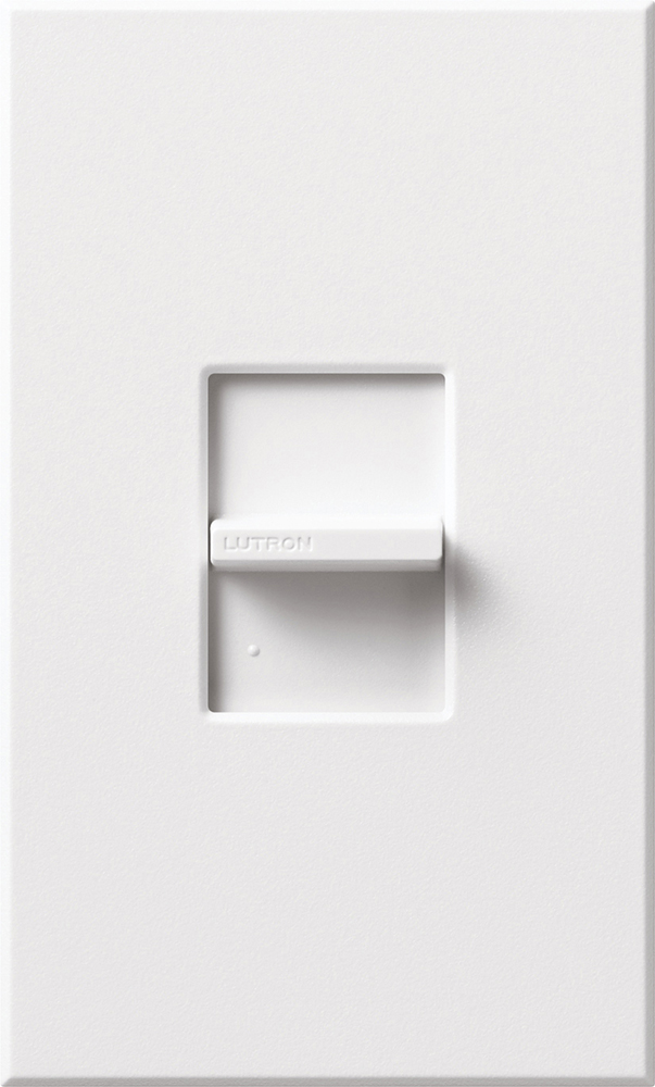 Lutron,NT-1PS-WH,Nova T® NT-1PS-WH Architectural Style Dimmer Switch, 120 VAC, 20 A, 1 Pole, White