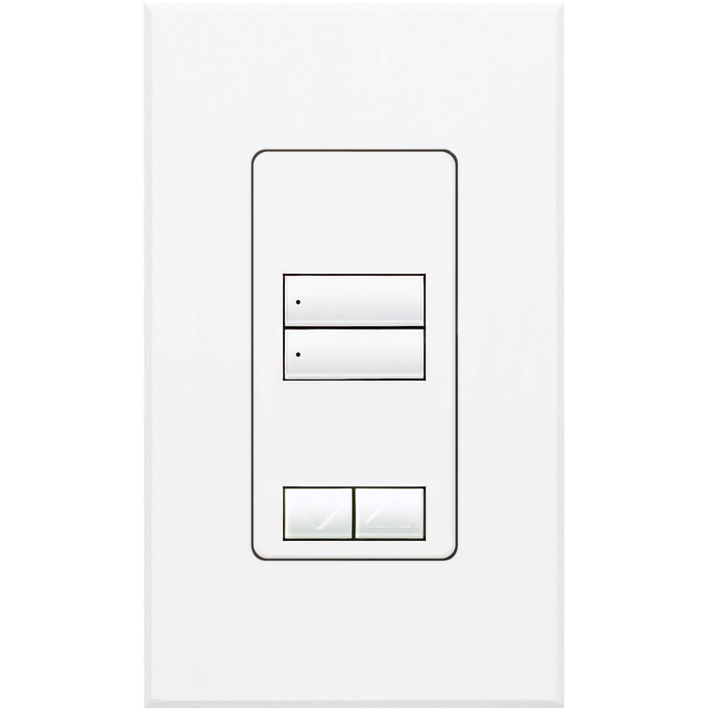 Lutron,QSWS2-2BRLI-WH,QSWS2 WALLSTN 2BRL INS WH