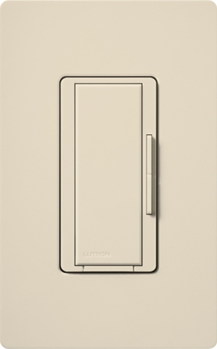 Lutron,RD-RD-LA,RadioRA® 2 Maestro® RD-RD-LA Dimmer Switch, 120 VAC, 1 Pole, Light Almond