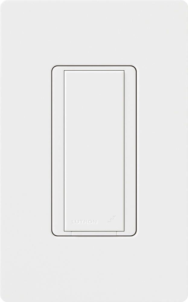 Lutron,RD-RS-WH,Maestro® RadioRA® 2 RD-RS Remote Dimmer, 120 VAC, On/Off, White