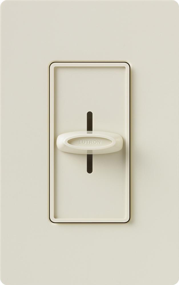 Lutron,SFSQ-FH-LA,Skylark® SFSQ-FH 1-Pole Fan Control Switch, 120 VAC, 1.5 A, Quiet 3 Speed Operation, Light Almond