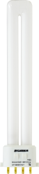 Sylvania 20284 13 W 82 CRI 3000 K 800 lm 2GX7 Base 4-Pin Single Dimmable Compact Fluorescent Lamp