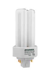 Sylvania 20877 18 W 82 CRI 3500 K 1200 lm GX24Q-2 Base 4-Pin Triple Dimmable Compact Fluorescent Lamp