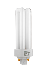 Sylvania 20886 32 W 82 CRI 4100 K 2400 lm GX24Q-3 Base 4-Pin Triple Dimmable Compact Fluorescent Lamp