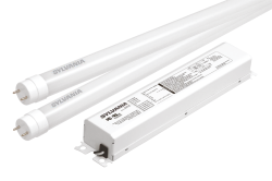 Sylvania,LED19T8L48/F/1X2HE/841/UNV,ULTRA LED T8 HE retrofit kit, 4ft 4100K, each SKU includes 2 lamps and (1) 2 channel driver