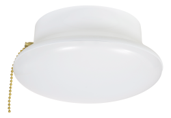 Sylvania,LED1200CL827RP/75112,15W, 1200lm , 2700K , 120V medium base retrofit ceiling light for installation into existing porcelain socket. Includes pull string feature. Not Dimmable. Retail pack.