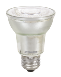 SYL LED8PAR20DIM830FL40GL1W 8W PAR20 DIM LED LAMP - 500LUMENS - 3000K - 25K HR RATED CS=6