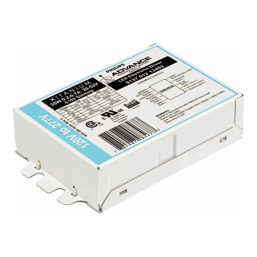 Philips Advance,LED120A0024V41RDM,Xitanium LED120A0024V41RDM Retrofit LED Driver, 120 VAC Input, 24 VAC Output, 100 W, 9-1/2 in L