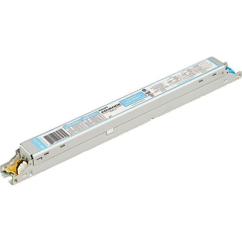 ADV ICN2S54T35M Ele Ballast (2)F54T5/Ho 120-277V! Replaces ICN2S5435M !
