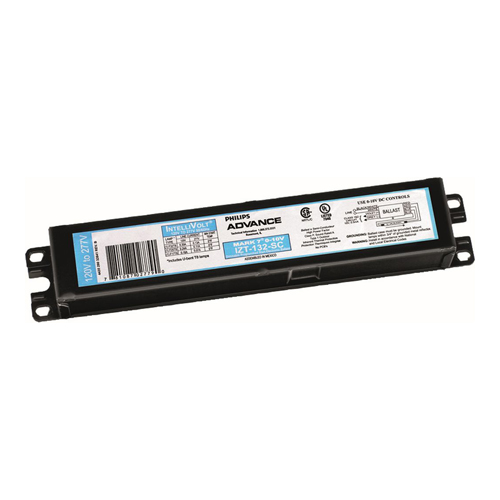 Philips Advance,IZT2S26M5LD35M,Philips Advance IZT2S26M5LD35M Electronic Fluorescent Ballast, CFQ26W/G24Q Lamp, 26 W, 120 to 277 VAC, Programmed
