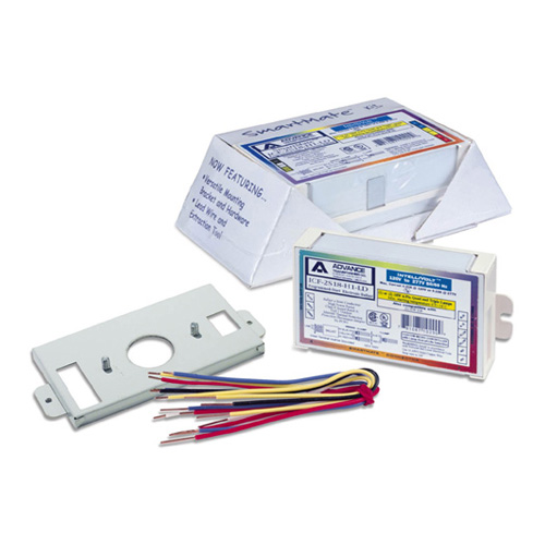 Philips Advance ICF-2S26-H1-LD-K Electronic Fluorescent Replacement/Retrofit Ballast Kit, Compact Fluorescent. For 26W Quad; 26W, 32W, & 42W Triple Tube; and 21W 2D Lamps