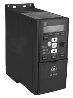 GE Controls,6KLP43001X9A1,AF-60 LP DRIVE 460V, 3-PH, 1HP