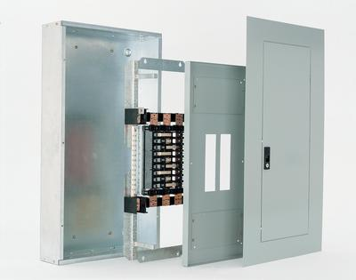GE,AQU3422RCXAXT1B4,General Electric AQU3422RCXAXT1B4 Panel Board Interior, Convertible, Main, 240 VAC, 225 AMP, 3 Phase, Material: Copper, Size: 49.500 IN Height, Bolt on Mount