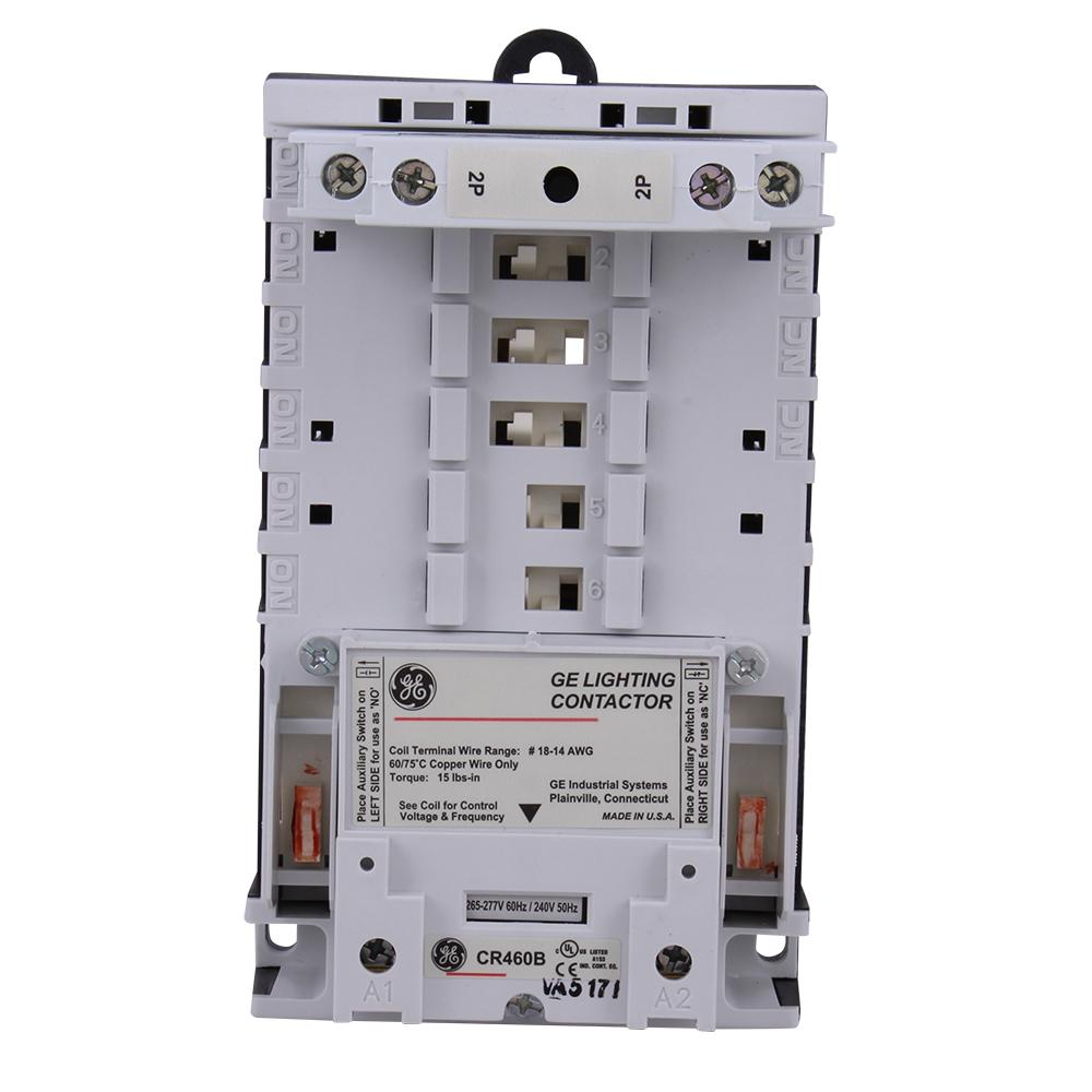 GE Industrial Solutions 463L20ANA 277 Volt 30 Amp 2NO Open Lighting Contactor