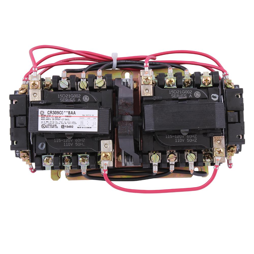 GE CR309C002BAA 120V SZ1 OPN STRTR