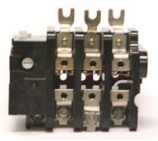 GE Industrial Solutions CR324C310F 24 Amp NEMA 1NC Magnetic Contactor Block Overload Relay